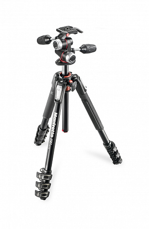 Manfrotto MK190XPRO4-3W штатив с головой MHXPRO-3W