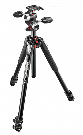 Manfrotto MK055XPRO3-3W штатив c головой MHXPRO-3W