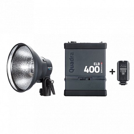 Комплект Elinchrom ELB 400 Action To Go (1 гол)