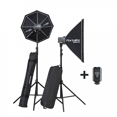 Комплект Elinchrom D-Lite RX ONE 100/100 softbox